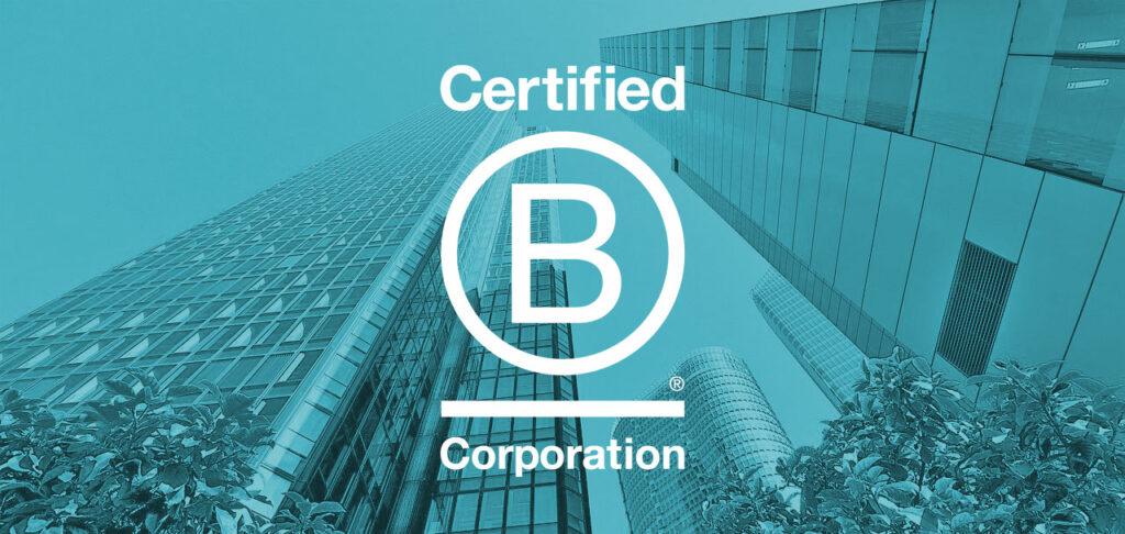 Bild mit dem Logo der B Corporation